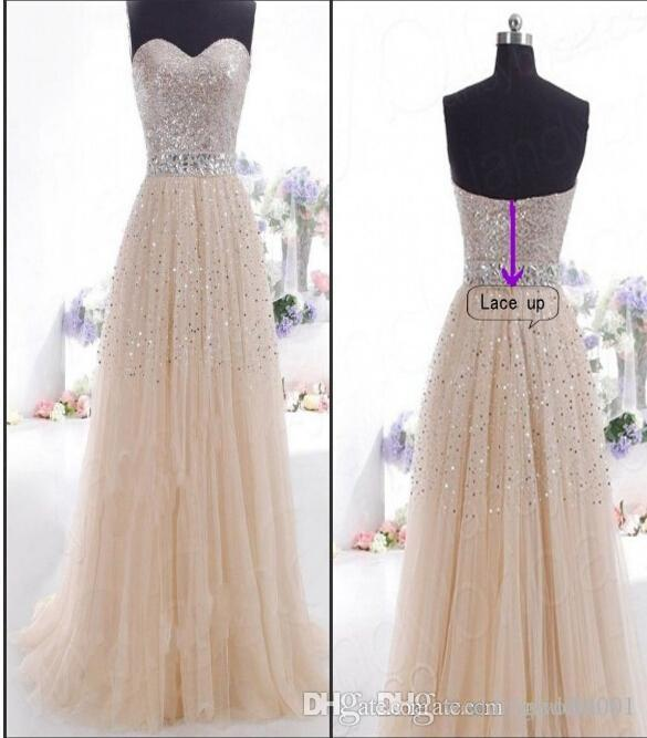 Free Shipping Hot New cocktail Sequins Long Formal Prom Party Ball Gown One package can also be issued