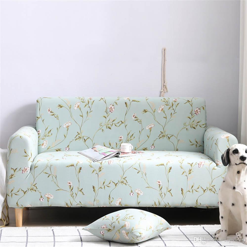 Elegant Flowers Sectional Sofa Cover Corner Sofa Cover Winter Warm Simple  Style With Sheet Pillow Of Furniture Covers Dining Chair Slipcover Parsons  ...