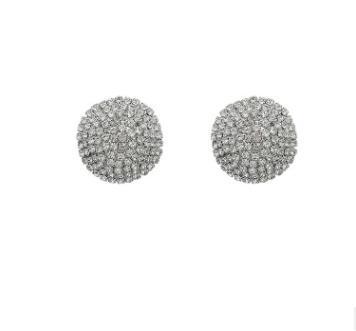 ücretsiz gönderim aynı dönemine sahip Avrupa ve Amerika Birleşik Devletleri 2019 moda pırlanta takı sayaç elmas kalp küpe