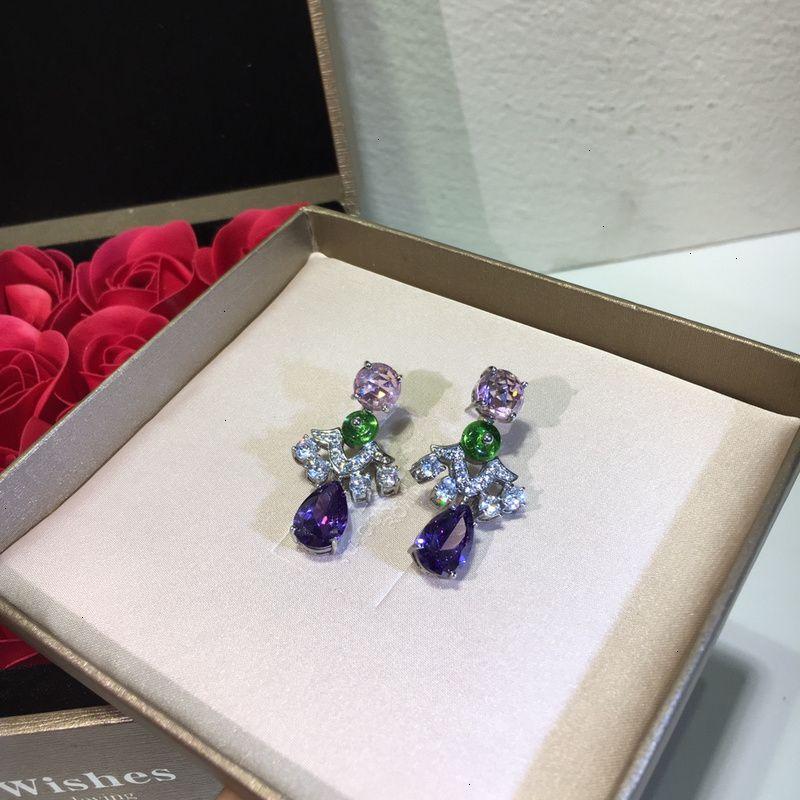 orecchini di fascino delle donne gioielli nuovo high-end WSJ029 # 111.540 wsj488