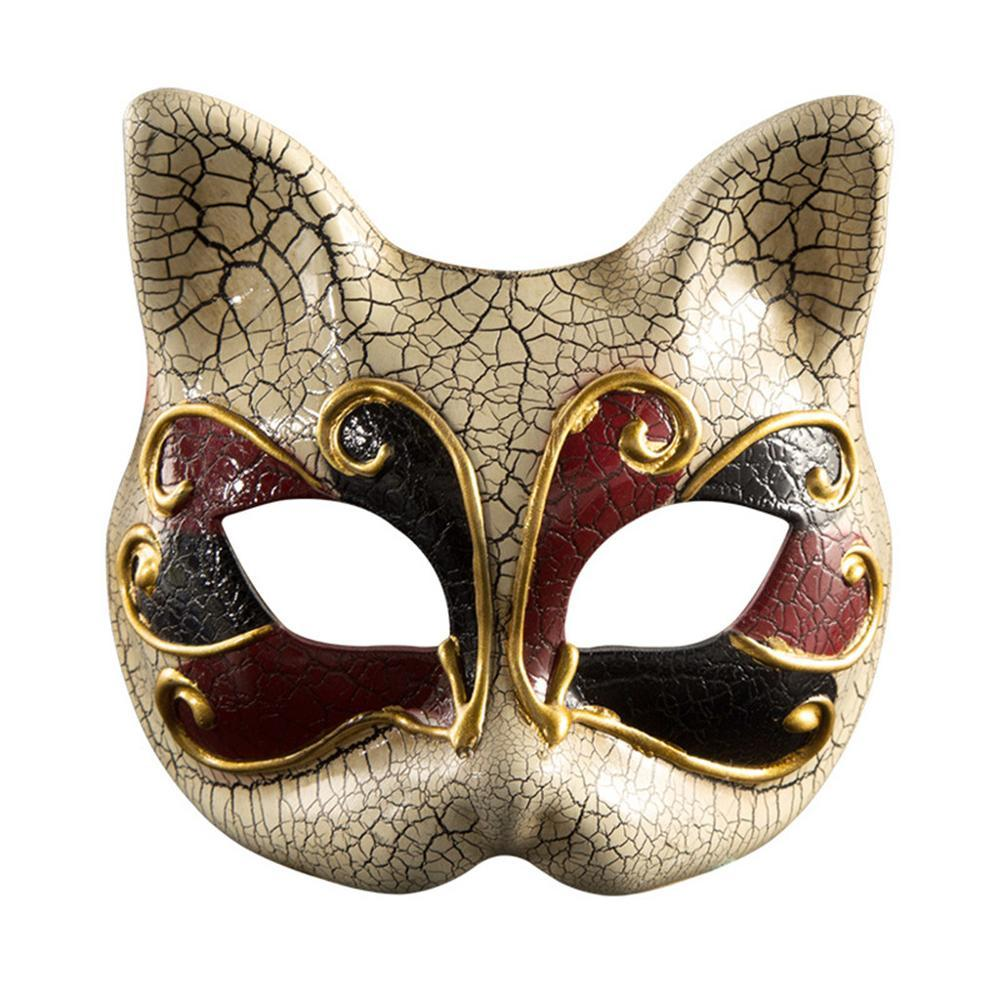 Unique Checker Plastic Masquerade Mask Prom Dance Venetian Halloween Costume