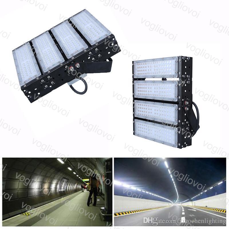 Túnel luzes 200 w smd3030 240led do módulo floodlight flancer dissipação de calor impermeável ip65 legal branco para projeto de rodovia