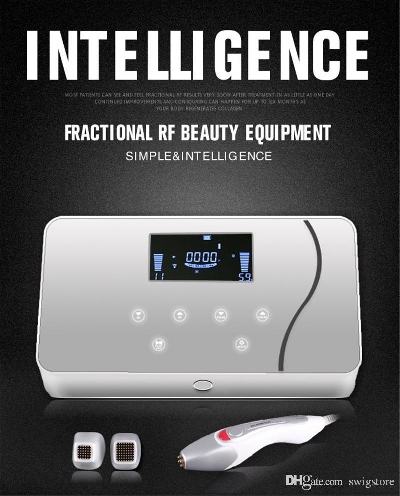 matrice Nouveau point chaud maggie équipement de beauté RF pour la résistance des rides de rajeunissement et de blanchiment avec quatre tailles de bouchons