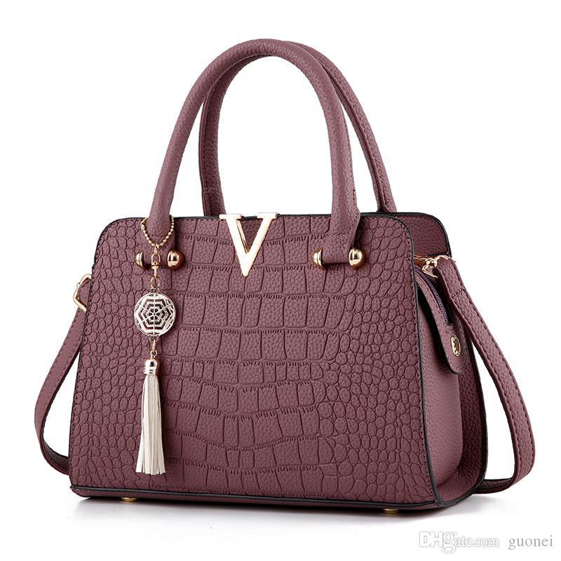 Femme Ladies Messenger Messenger Clutch Designer-V Bolsos Marca de mujer Bolsas de cuero de las mujeres Un bolso de mano del saco principal Elndb