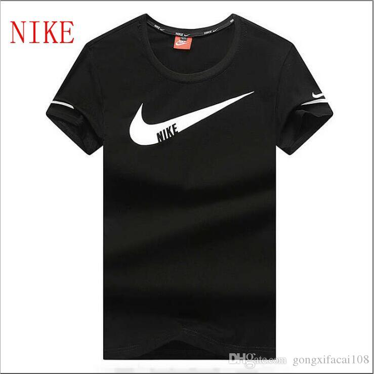 fe3d13ca NEW NIKE Men'S T Shirts Cotton Mens Summer Short Men'S Clothing T Shirt  Men'S Tees & Polos Size L 4XL Tee Shirt For Sale Worlds Funniest T Shirts  From ...