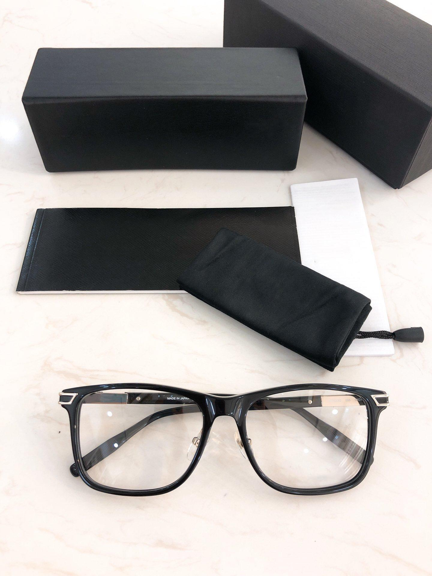 Designed Eyeglass Frame-2019 0042O Plate Spectacle Frame Quality Fashion Large Square High Frame Men's Glasses New Upeak
