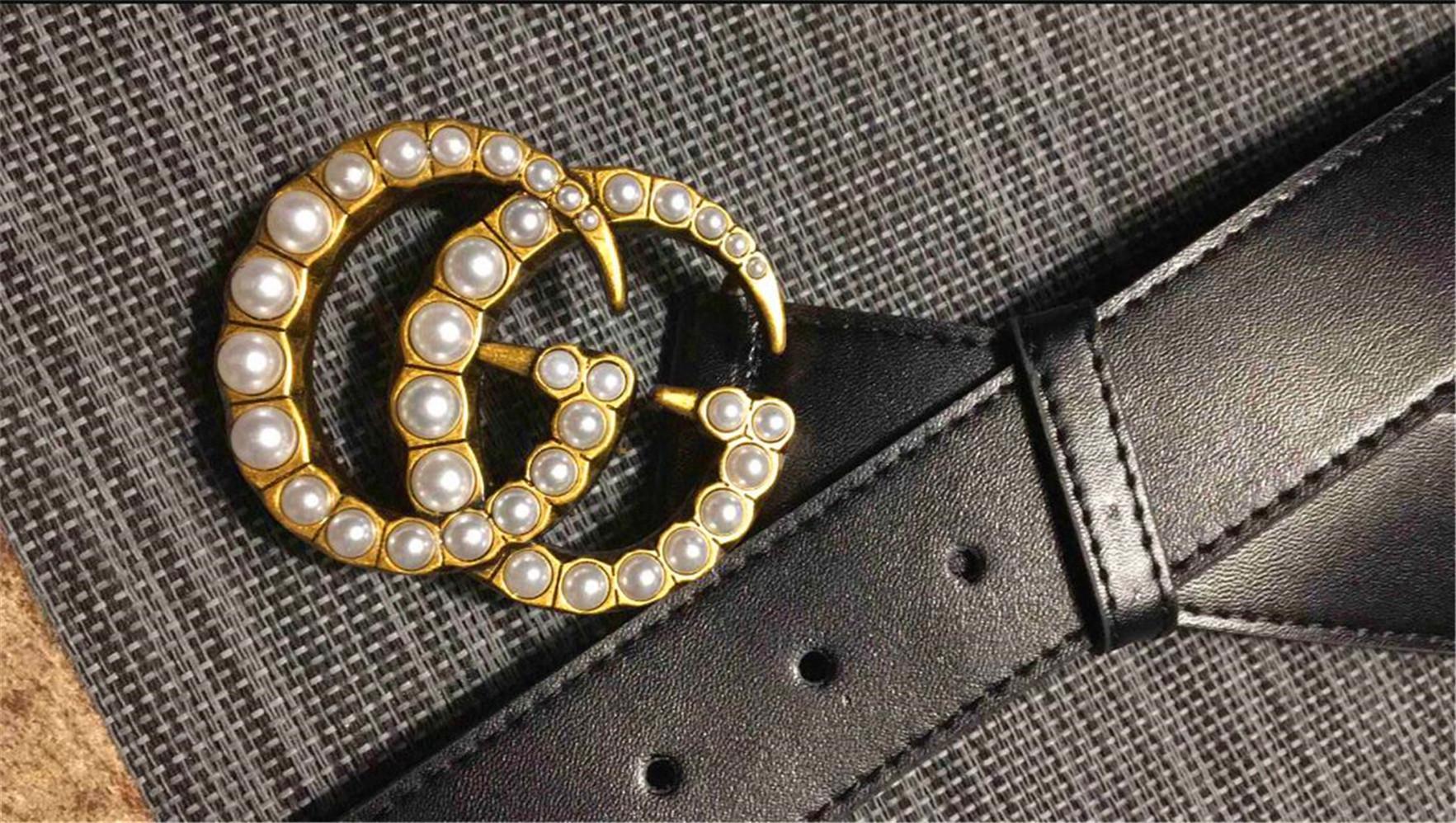 Горячих продажи новой Моды Бизнес Ceinture G стиль ремень дизайн мужского женская Рий G пряжка с черным не с коробкой в качестве подарка 8AC7B