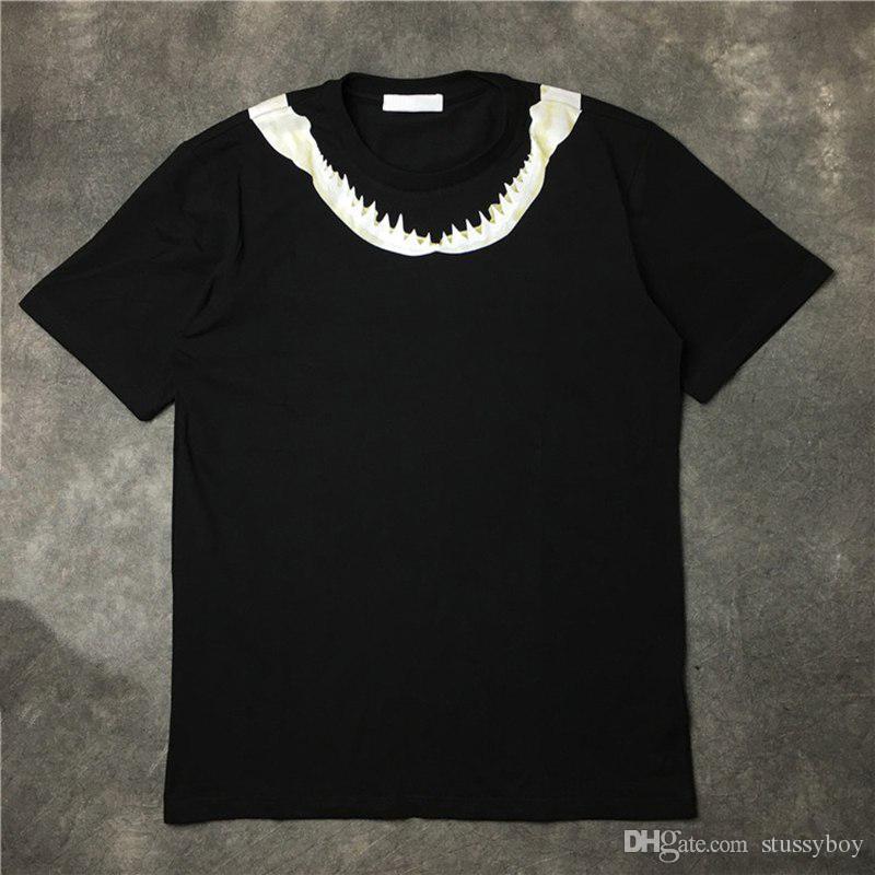 أزياء الرجال المصمم تي شيرت القصيرة الأكمام أزياء الرجال المصمم T شيرت الهيب هوب أزياء الرجال والنساء قصيرة الأكمام تيز الأسود