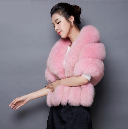 Faux Fur Coat artificiale pelliccia soprabito Jacket Furry Femme Plus Size Fake Furry 2019 donne di inverno Outwear Q931