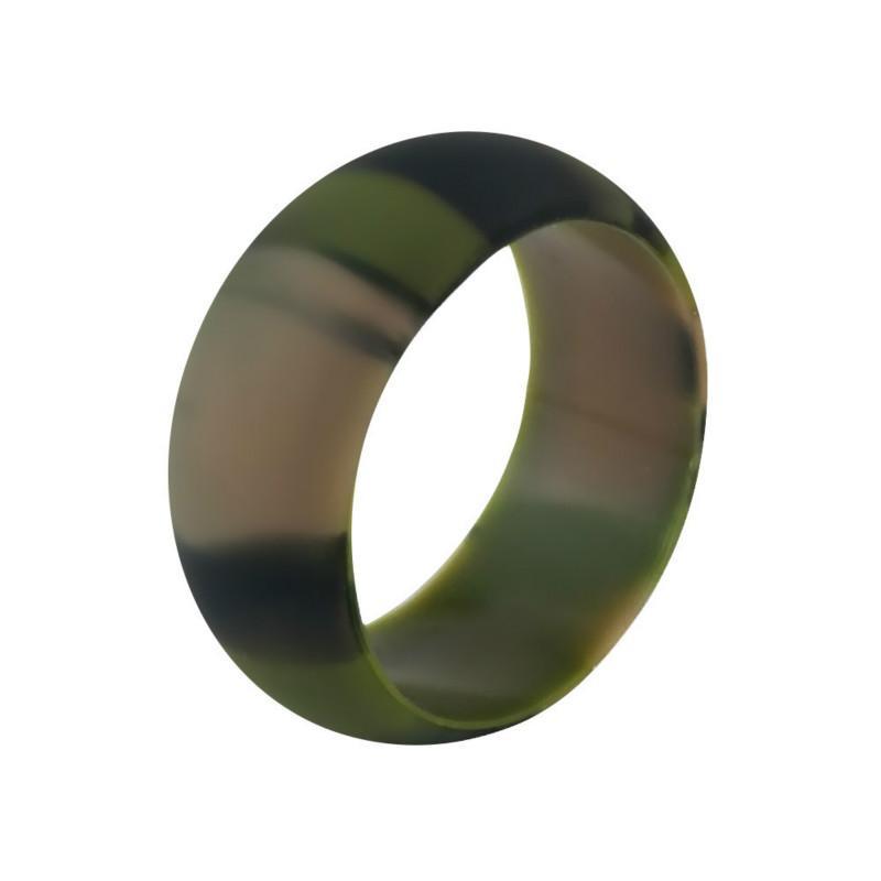 سيليكون خاتم الزواج حركة الزوجين حلقات جولة في الهواء الطلق الرياضة حلقات متعدد الألوان والحجم مريحة تصميم خواتم خمر