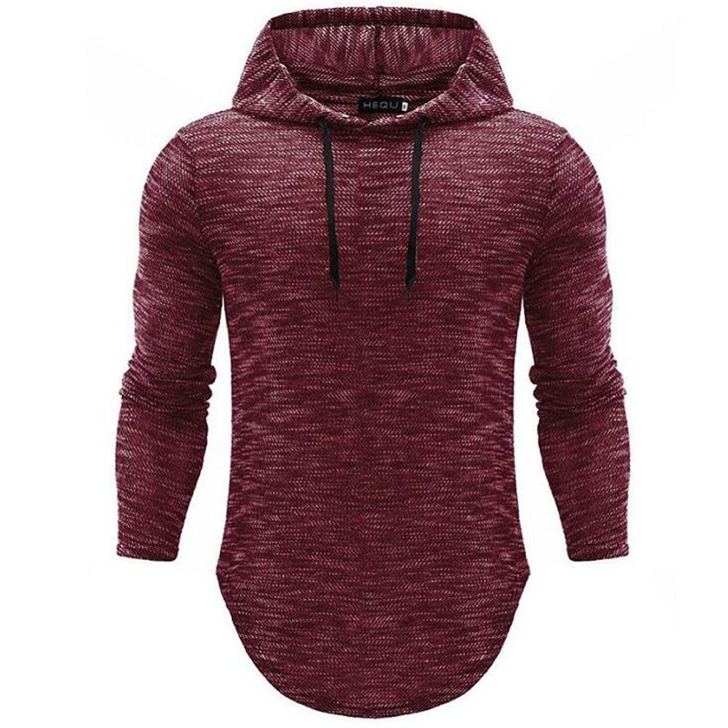 Hoodie Männer Hip Hop-Sweatshirt-Mode-Männer Hoodie Frühlings-Sommer-Baumwolle Pullover männlich schwarz Hoody Sweatshirts M-2XL