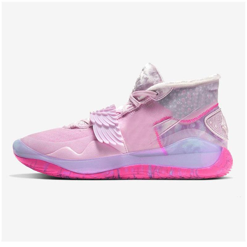 2020 Nueva KD 12 EP tía Perla Lo que el aniversario de la Universidad de 12s XII Calzado Oreo baloncesto de los niños de antracita Kevin Durant PE zapatillas de deporte