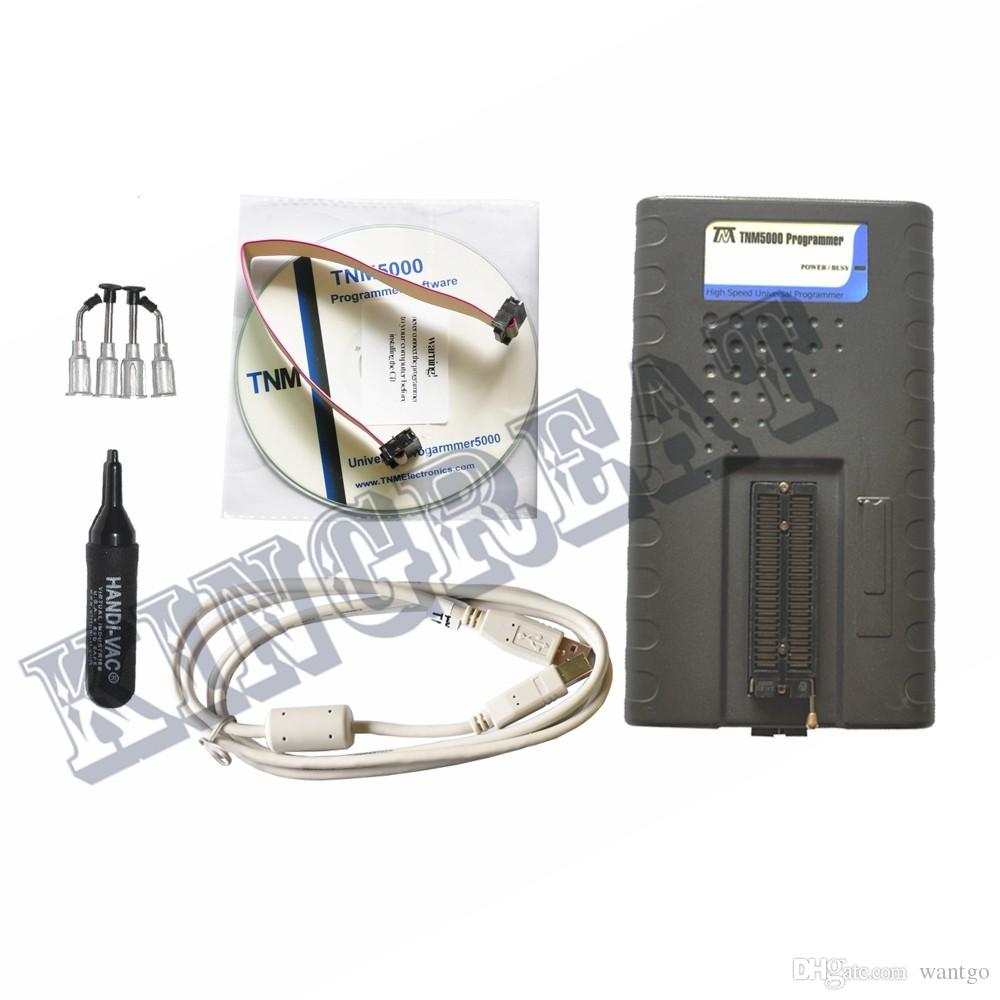 Freeshipping 2018 TNM5000 USB Programmer,Support all notebook kbc ec controller programmer,for general use and vehicle electronic part repai