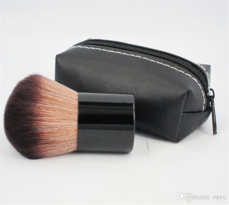 Hot sale Makeup 182 rouge brush \blusher brush+Leather bag M182 DHL free ship