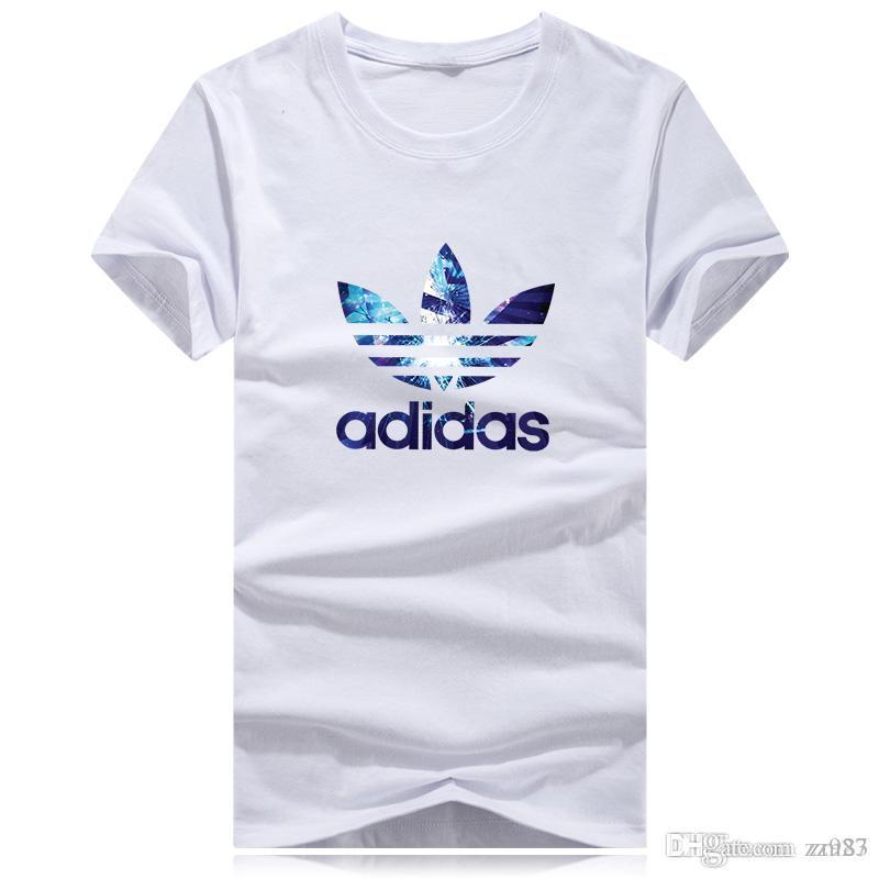 Nueva camiseta del verano de algodón camisa de marinero de tallas grandes hombres del estilo simples de manga corta de ropa deportiva camiseta de alta Q camisa del diseñador de los hombres