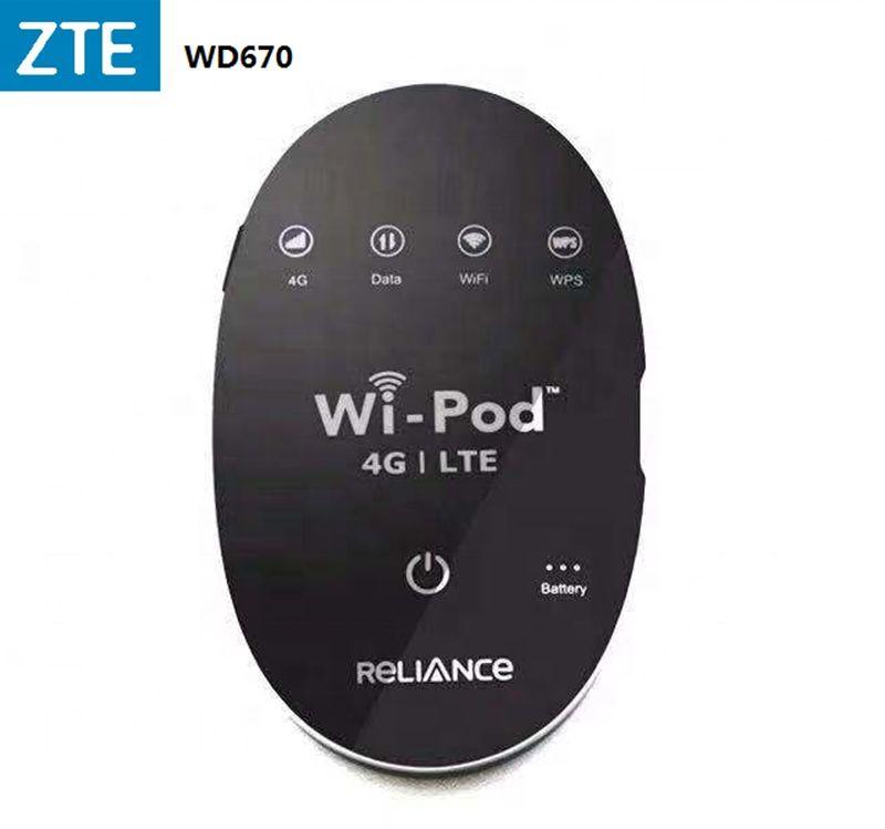 Router WI-POD 4G LTE WZ670 / MF90 / MF96 WI-POD 4G LTE Pocket WiFi Router WIFI senza fili mobile sbloccato