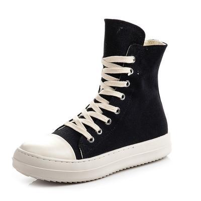 2019 chaussures dentelle haut-dessus Persional nouvelle liste occasionnels marée fin encens TPU mode gris quelques hommes et femmes a augmenté de lourdes bottes à fond