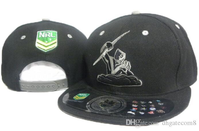 Top Fashion hot new Nrl Melbourne Storm Snapback Hat Nrl Teams Snapbacks Hats Adjustable Ball Caps Men Women Summer Beach Sun Cap