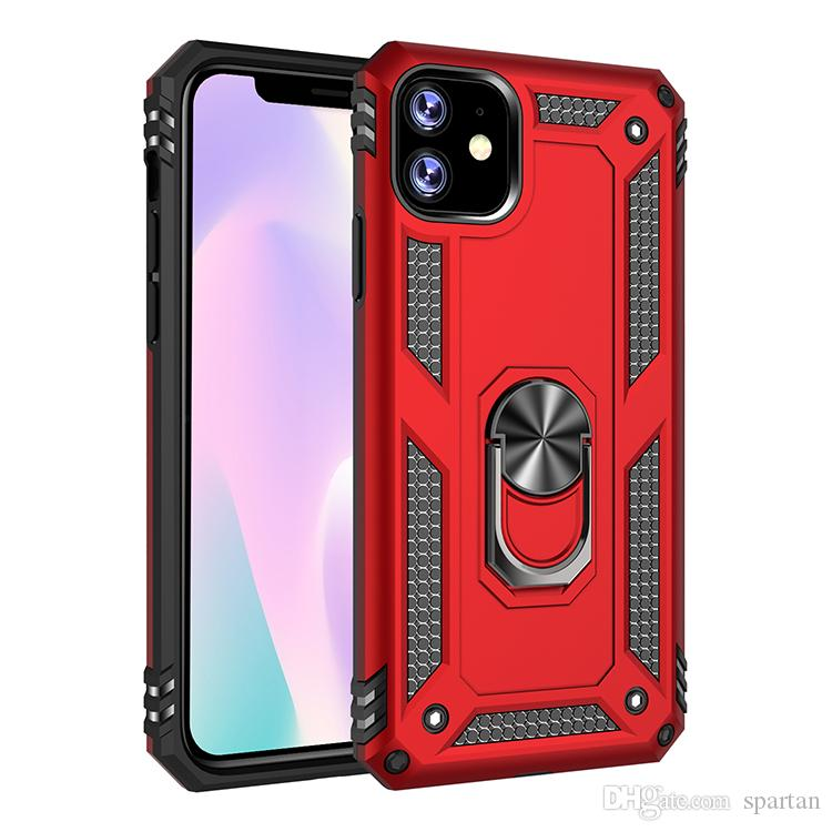 For iphone 11 pro max xs xr SE 2 Ring CASE kickstand fashion phone cover galaxy S10 S20 Plus ip 6 7 8 universal