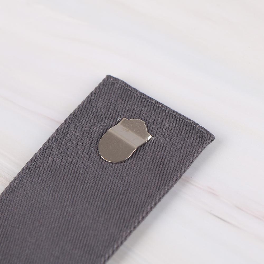 NUEVOS pantalones hebilla Extender Pantalones Embarazo cintura extensor de correa de la pretina de la cintura de las bragas Extender obesa embarazada de extensión de cinturón