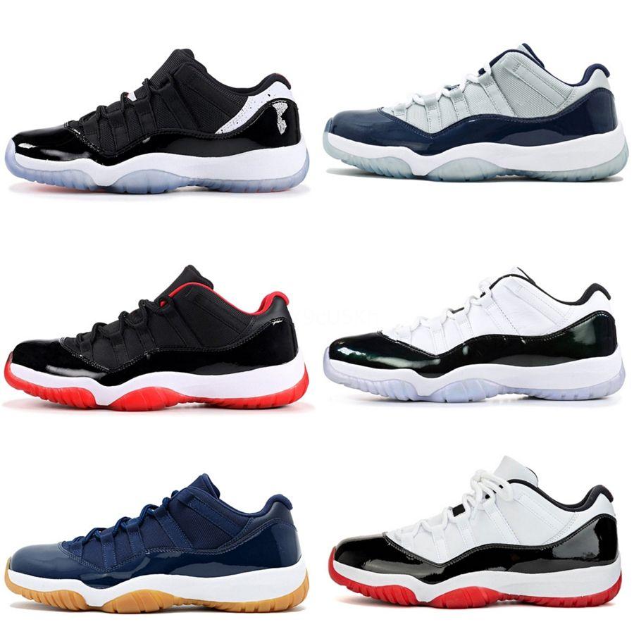 Всячески препятствовать 11 ОГ баскетбол обувь мужская Чикаго 11С кольца кроссовки разводят носок тренеров мужчин среднего новая любовь спорт УНК обувь запрещена дизайнерская обувь #121