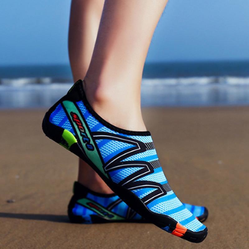 Супер распродажа Дайвинг МОРСКИЕ обувь Скорость Интерференционные воды Upstream обувь Открытый пляжная обувь Мужчины и Женщины Плавание Sh