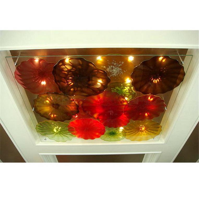 Soffiato a sospensione Art Glass europea Murano Lampade decorazione domestica mano di alta qualità Lampadario in vetro Illuminazione 2020