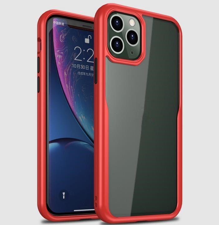 iPhone için 11 Pro Max Temizle Telefon Kılıfları Şeffaf Koruyucu TPU Cep Telefonu Kılıf ile Perakende Kutusu Kapak