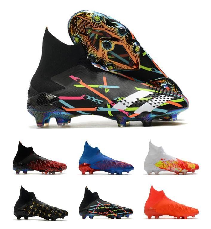 2020 nuevos zapatos de fútbol baratas niños Predator mutadores 20 FG zapatos de fútbol de los muchachos mujer de los hombres Predator mutadores 20 botas de fútbol Elite FG 35-45