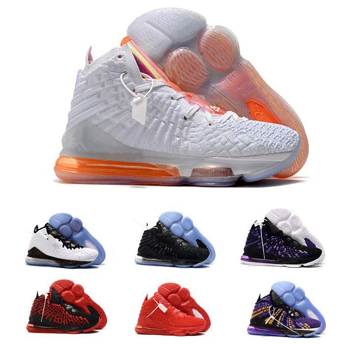2020 de alta calidad más reciente ceniza fantasma lebron 17 niños zapatos de baloncesto Llegada Zapatillas de la llegada 17S Mens 17s King Sports Shoes