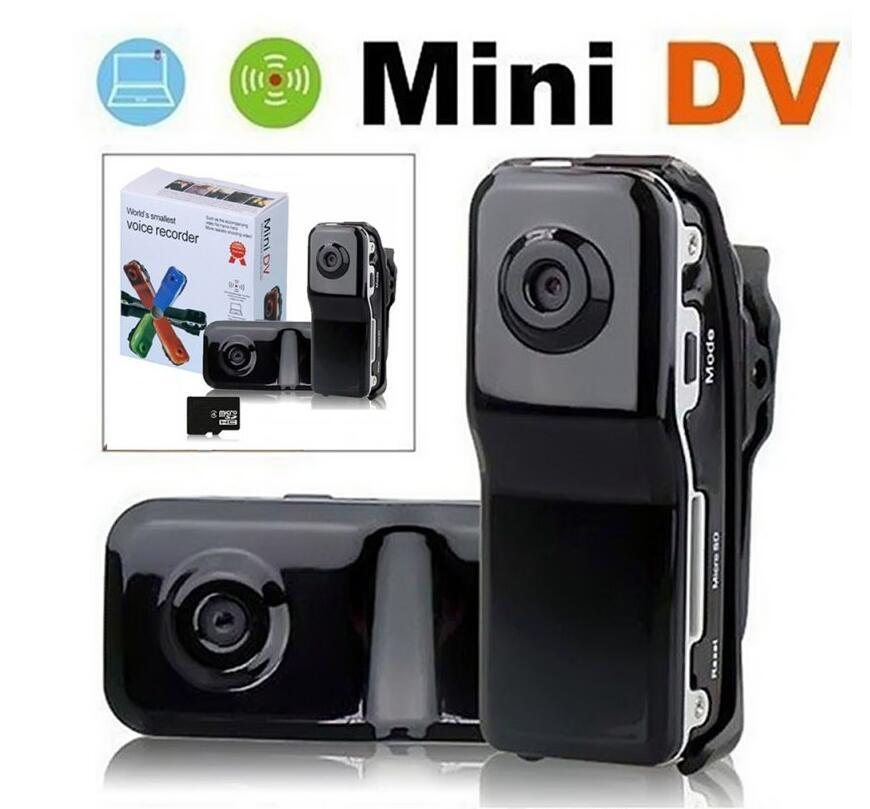 2020- MD80 High-Resolution Mini DV DVR Sports Video Record Camera Camcorder sound activated recording function JBD-MD80 Free send DHL