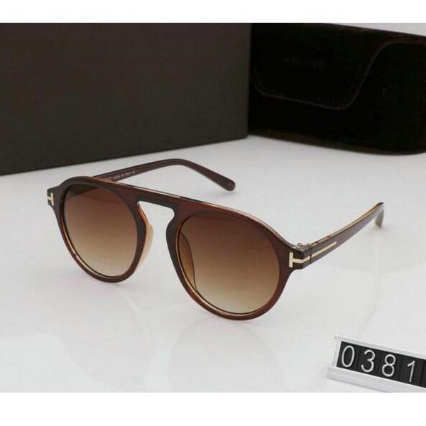 kutu Güneş TF352 ile Erkek Bayan Gözlük tom Tasarımcı Kare Güneş Gözlükleri UV400 ford Lensler İçin Güneş gözlüğü yuvarlak Yeni Moda