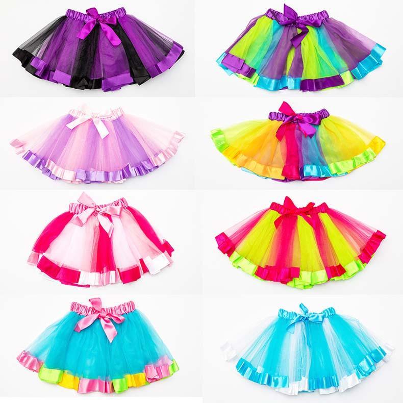 Hot Sales Baby Girls Childrens Kids Dance Clothing Tutu Skirt Dance wear Ballet Dress Fancy Skirts Costume Free Shipping