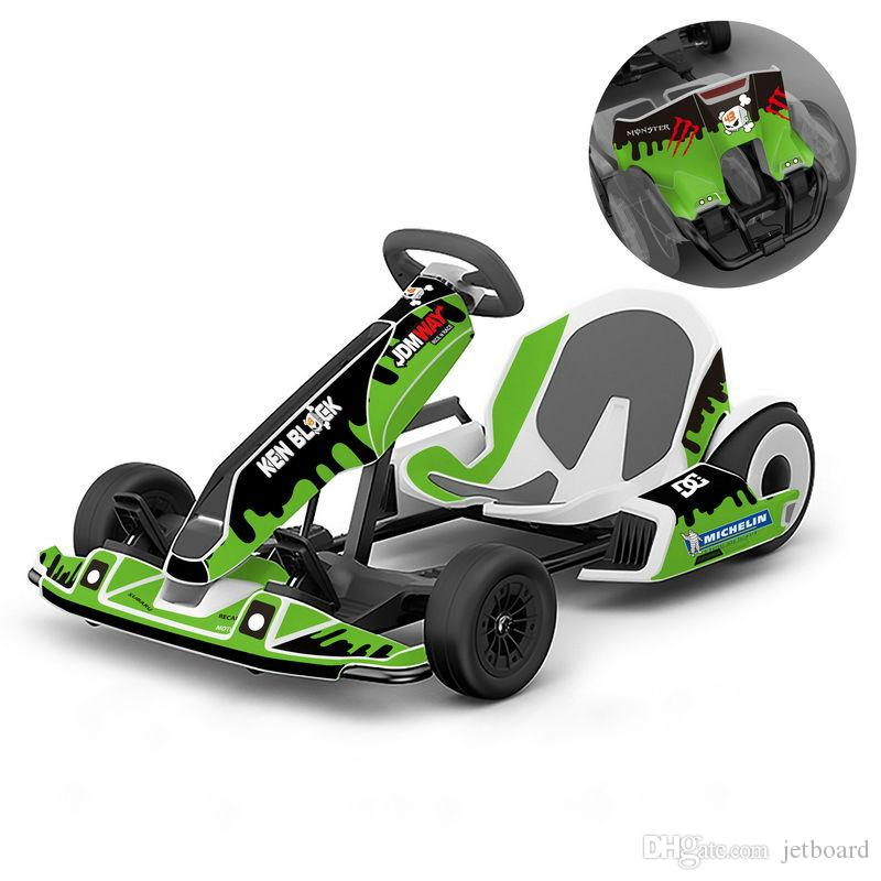 Funny Printed Decal Sticker For Ninebot Go kart Spare parts
