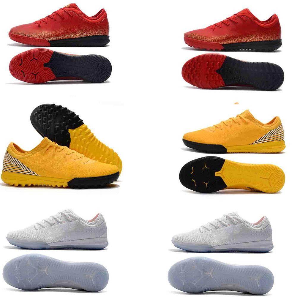 2019 mens tacos Mercurial Superfly VI originales 360 zapatos de fútbol de élite FG Ronaldo CR7 12CLUB botas de fútbol BAJA tobillo