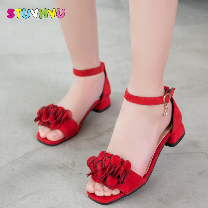 Children Princess Shoes Girls High