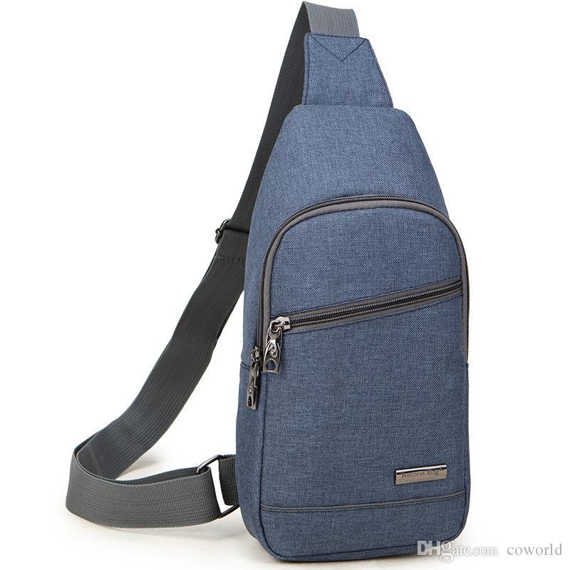 Sling Mochila ao ar livre USB Recarregável Anti-ladrão Ombro Peito Pacote Desequilíbrio Crossbody Bag para Mulheres Homens Meninas Meninos Viajar