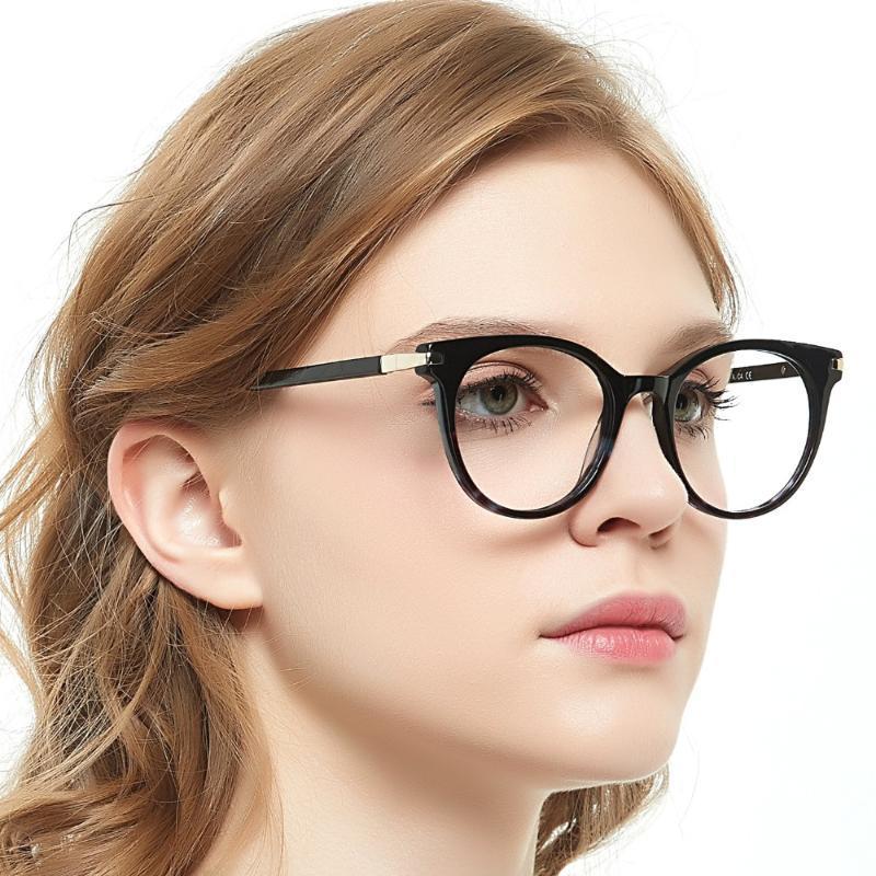 High Quality Acetate Glasses Men Retro Vintage Prescription Glasses Women Optical Spectacle Frame Round OCCI CHIARI OC7019