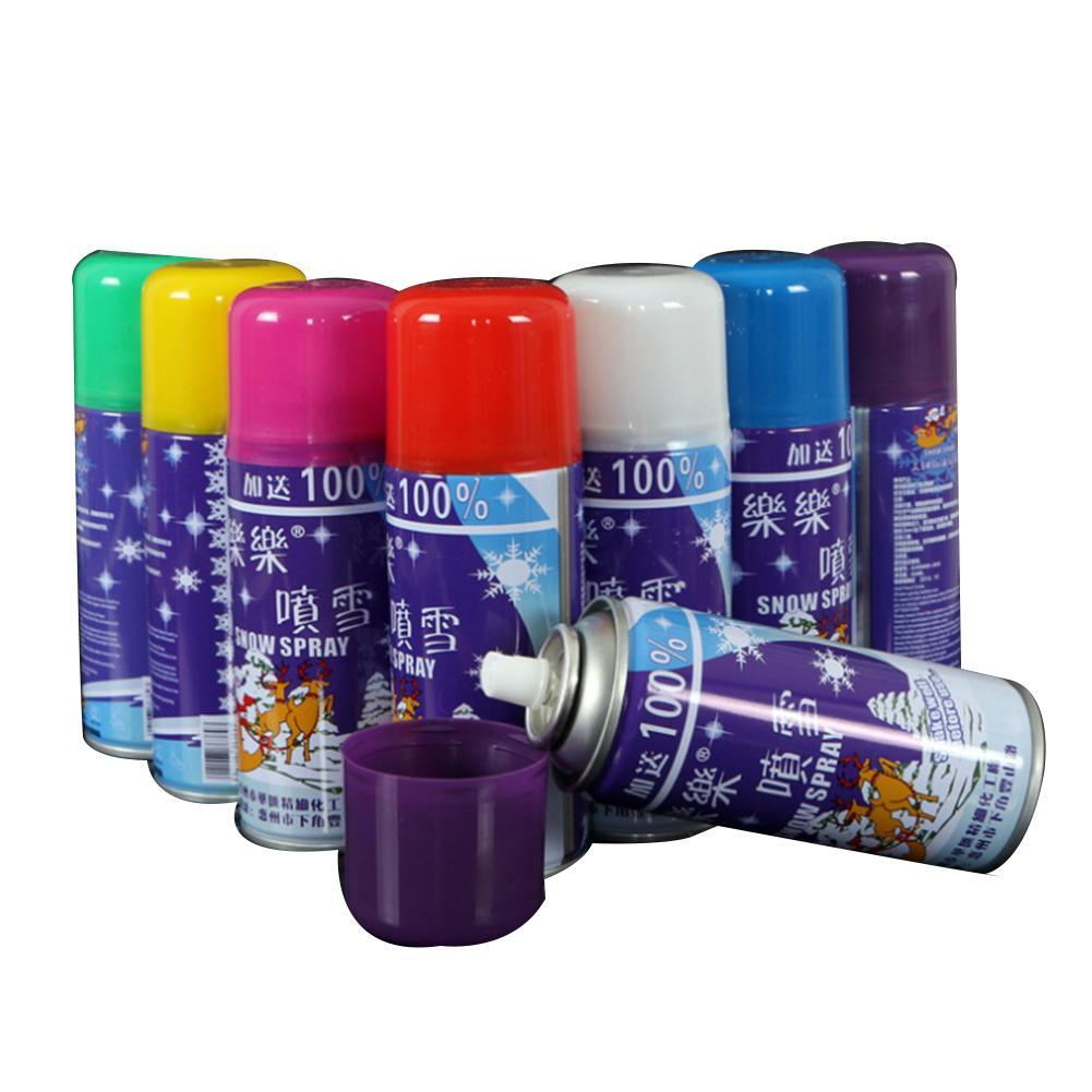 Festive Party Opponents Spray Color Spray Snow Cans Wedding Party Atmosphere Decoration Supplies Beautiful Wedding Props