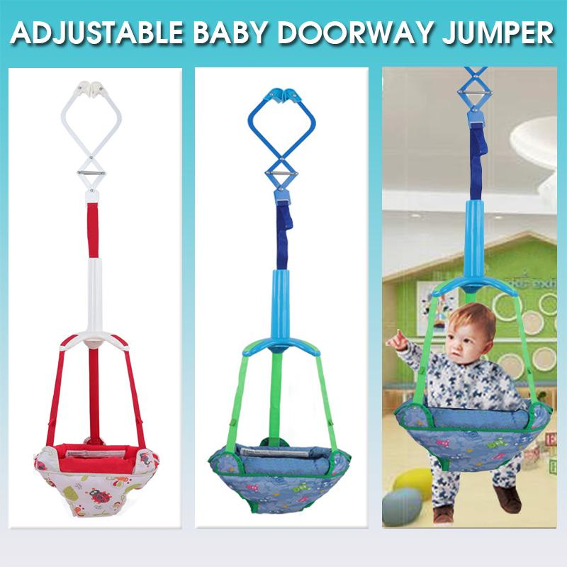 UK Baby Fun Toy Doorway Door Jumper Bouncer Swing Seat Activity Chair Adjustable