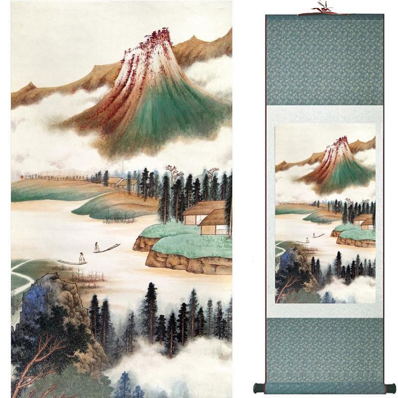 Peyzaj Sanat Boyama Süper Kalite Geleneksel Çin Sanatı Resim Ev Ofis Dekorasyon Çin Painting2019071602