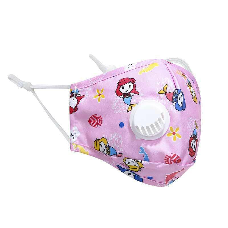 Vana Ayarlanabilir Ağız Çocuk Yetişkin Koruyucu Maske GGA3302 Maske Nefes ile filtreler PM2.5 Karşıtı Toz Maskesi 11style ile Yüz Maskeleri