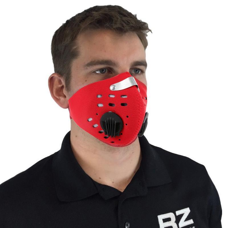 Велосипед маски РМ2,5 Фильтр из активированного угля Фильтр Буфф Манчестер банданы Велоспорт Лыжная маска Desporto Winter Face Shield Running Маски