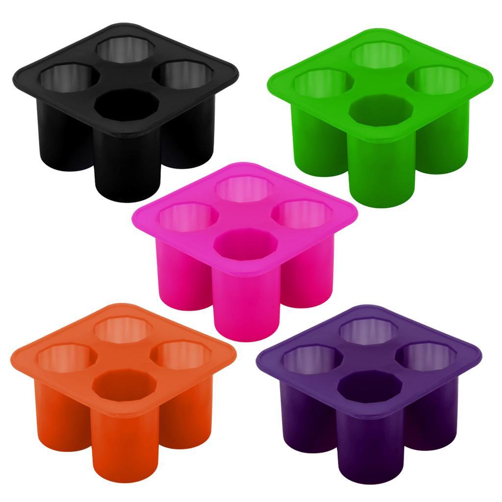 ISHOWTIENDA cilíndrica Forma Cube Ice Maker fácil fazer o molde de Gelo 3D reutilizável recipientes de armazenamento ferramenta da cozinha