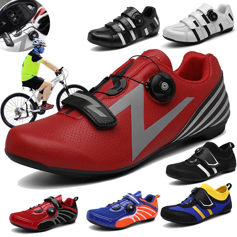cungel MTB Cycling Shoes men sneakers women add SPD pedal set 2019 Bicycle Shoes Non-Slip Bike Racing Shoes Sapatos de ciclismo