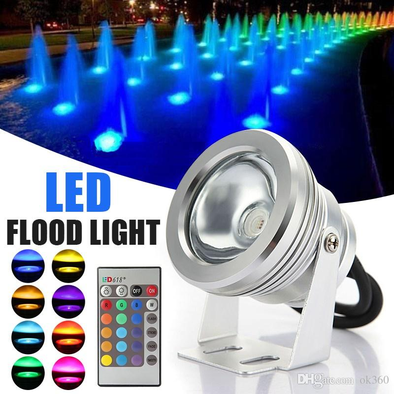 IP65 RGB LED Underwater Fountain Light Fish Tank Aquarium LED Light Lamp DC 12V