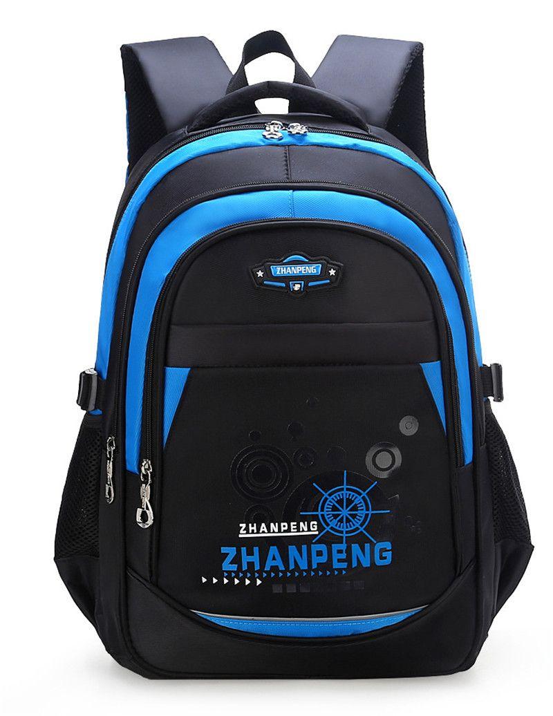 2020 Nueva escuela de los niños bolsas para los adolescentes Niños Niñas Escuela grande Capacidad mochila impermeable mochila mochila mochila niños LY191224
