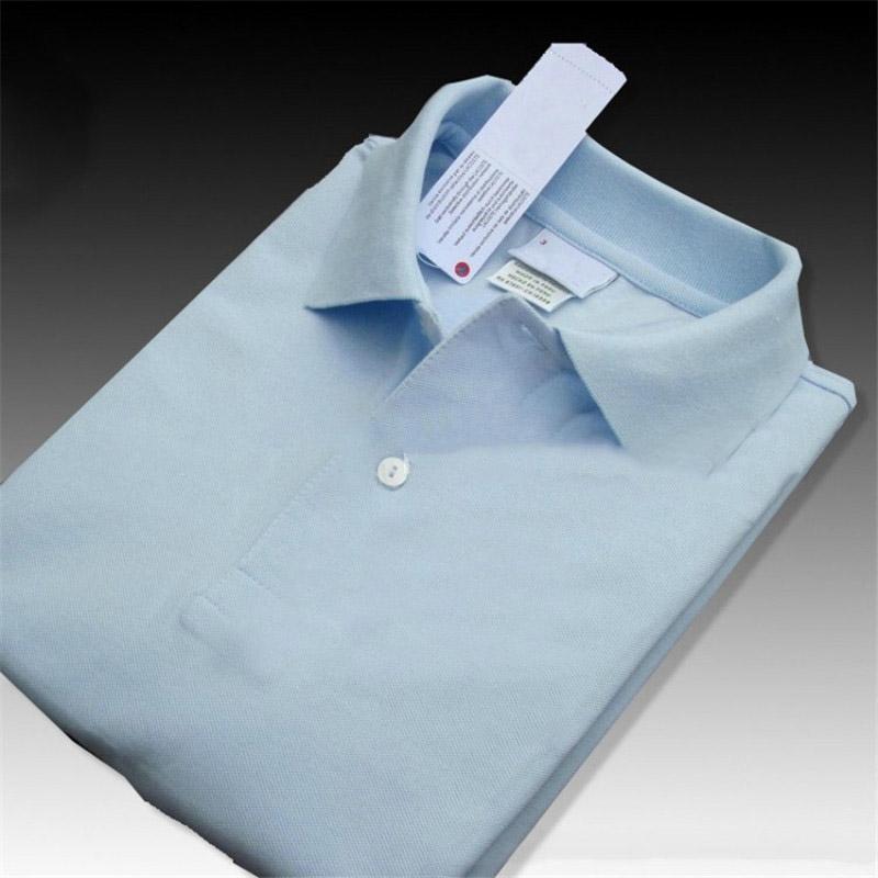 Trend Shirt Uomo Designer Estate Polo Le donne di alta qualità di T Moda professionale camice di colore solido di polo del ricamo logo T XS-4XL