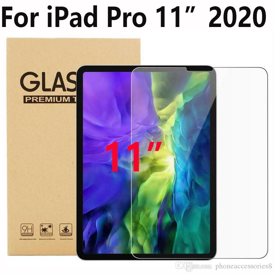 Tablet Pad Tempered Glass Screen Protector For IPAD PRO 11 2020 in Retail Package DHL FREE SHIPPING