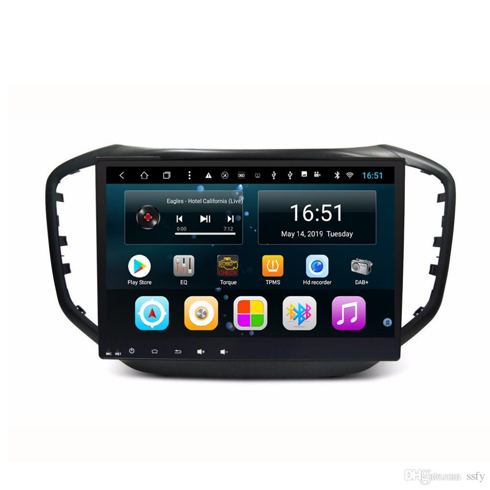 """Android car player with precise GPS navigation Resolution HD 1024 * 600 multimedia player microphone fast delivery for Chery Tiggo 5 10.1"""""""